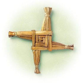 Make a Brigid's Cross   Root Simple