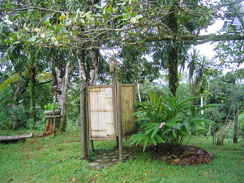 photo by the macallen brothers - How To Build An Outdoor Shower