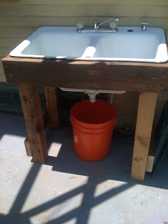 Outdoor Sink Makes Water Recycling Simple Root Simple