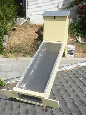 how to build a solar dryer