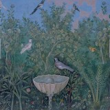A fresco from Pompeii depicting many familiar plants.