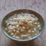 bowl of cooked beans