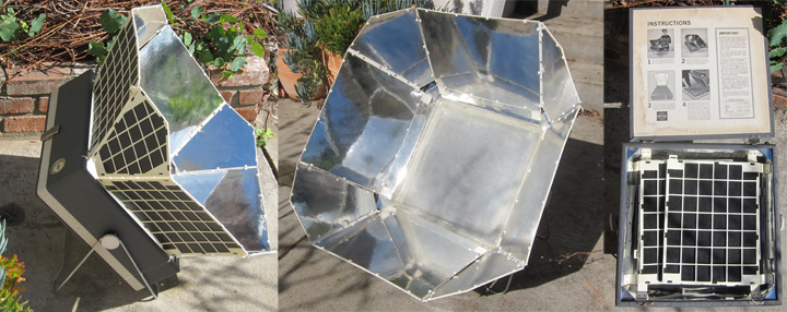 Sundiner solar cooker