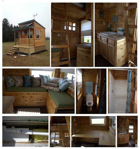 Picture sundays 100 square foot off grid house root simple for Small house design 100 square feet