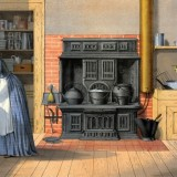 19th century kitchen