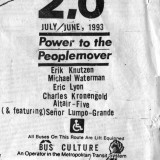 The cover of issue 2.0 of Power to the Peoplemover
