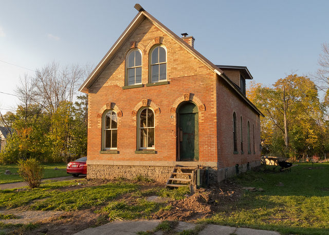 The Lyth Cottage in Buffalo, purchased for $1. Photo: Buffalo Rising.