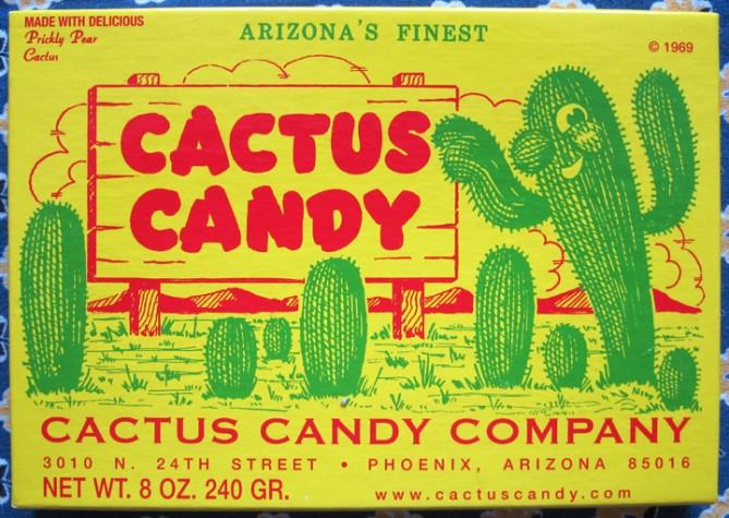 cactus candy box