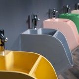 Sink urinal from Latvian designer Kaspars Jursons.