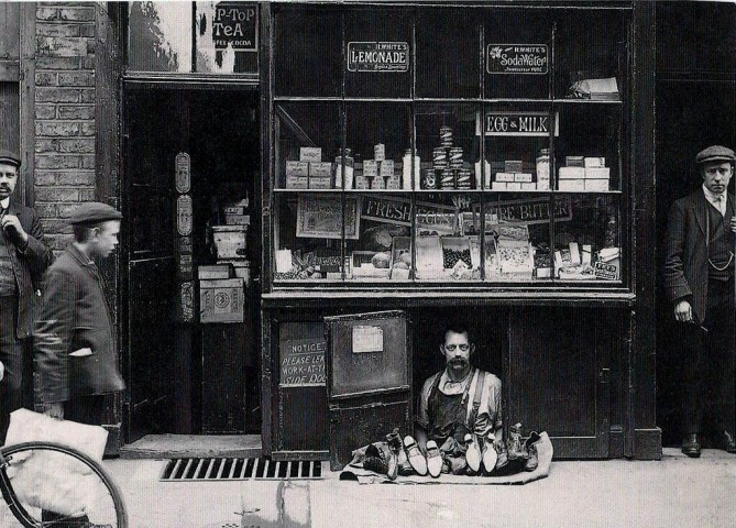 The smallest shop in London.