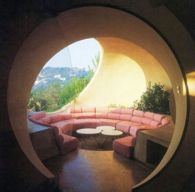 conversation pit with view