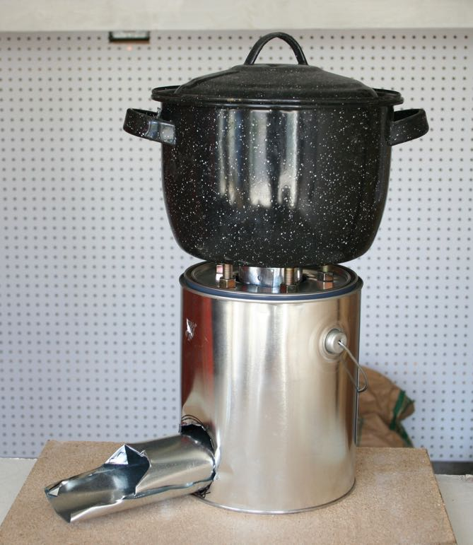 Fireplace Design home depot fireplace accessories : A Rocket Stove Made From a Five Gallon Metal Bucket   Root Simple