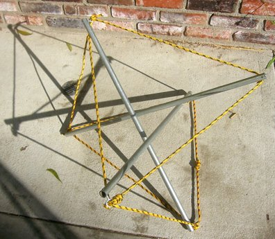 A Tensegrity Table Root Simple