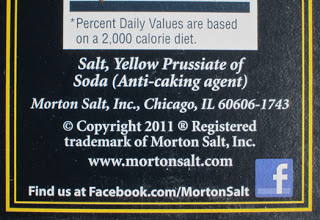 Morton Salt Anti Caking Agent