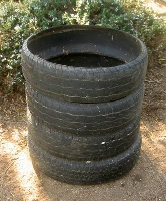 Used Tire Compost Bin | 45 DIY Compost Bins To Make For Your Homestead