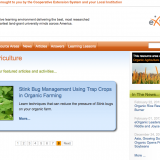 extension service webinar home page