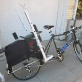 weight bench on Xtracycle