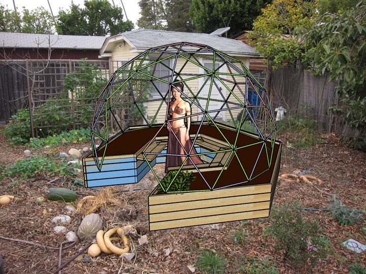 Hexagonal Raised Garden Beds
