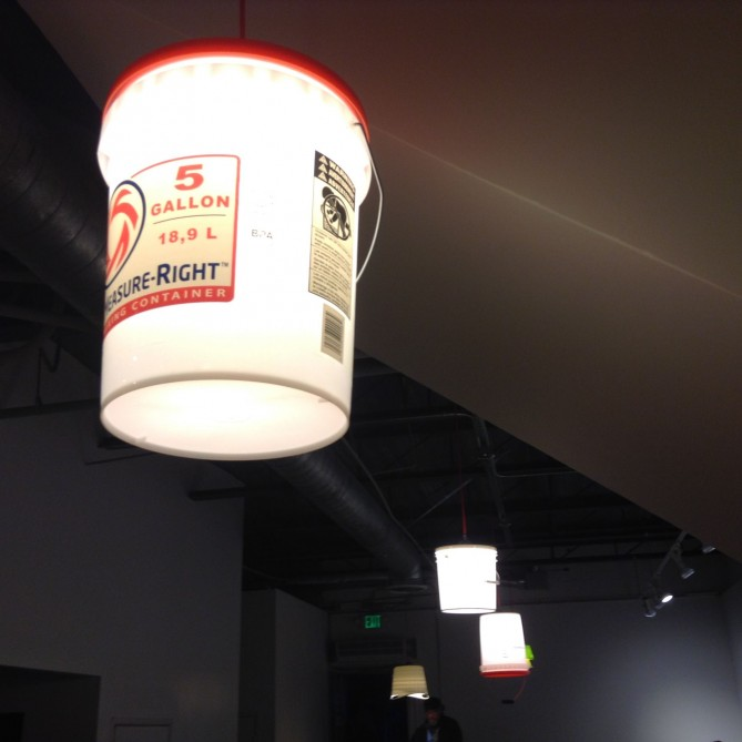 Picture Sunday: Light Buckets   Root Simple
