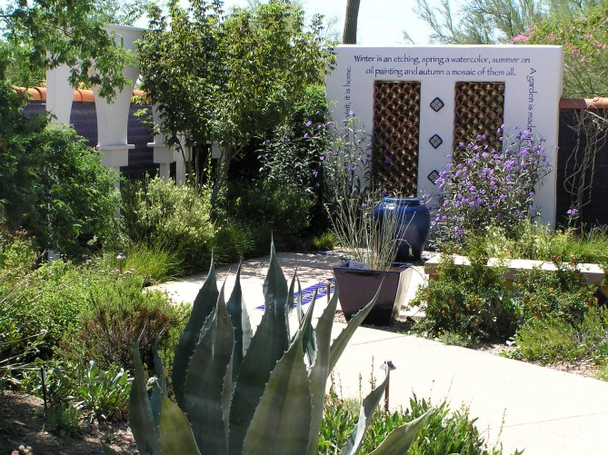 Moorish Garden at Tohono Chul