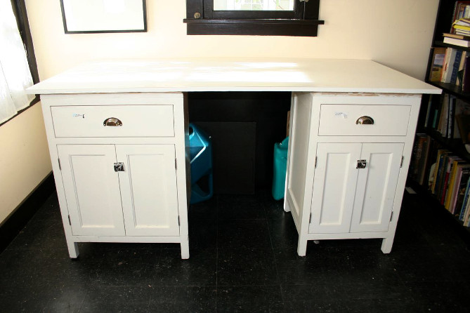 A Cheap and Easy DIY Sewing Cutting Table   Root Simple