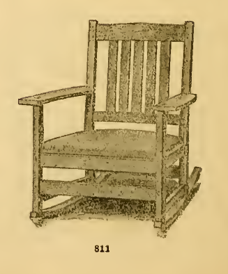 stickley 811 rocker
